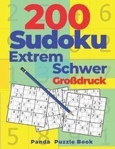 200 Sudoku Extrem Schwer Grossdruck