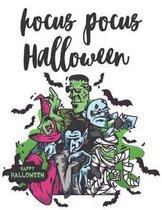 hocus pocus Halloween Happy Halloween: Sketchbook: Halloween Characters Sketchbook, Sketching Halloween decorations, Drawing and Creative Doodling. Sk