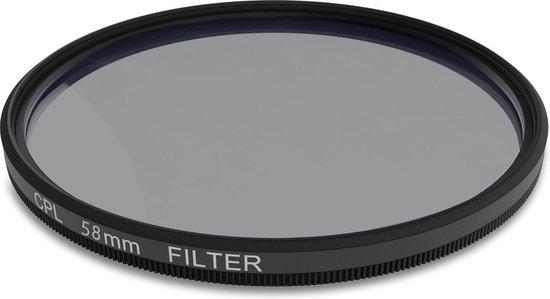 Circulair polarisatiefilter 58mm CPL
