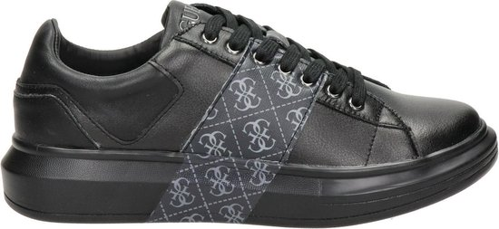 GUESS Salerno II Heren Sneakers - Zwart-Grijs - Maat 43
