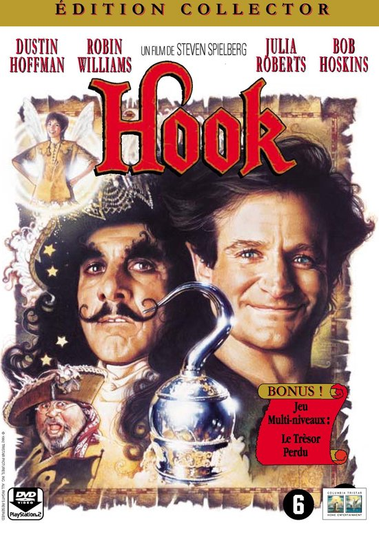 Cover van de film 'Hook'