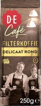Douwe Egberts D.E Café Delicaat Rond Filterkoffie  - 6 x 250 gram