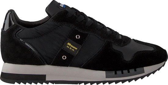 Blauer Heren Lage sneakers Queens01 - Zwart - Maat 46