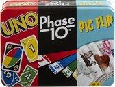 Mattel Games UNO Bundle Collector Bewaarblik - Kaartspel