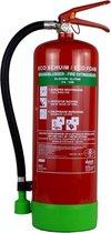 Mobiak schuimblusser 6 liter ECO Engels en Nederlands etiket