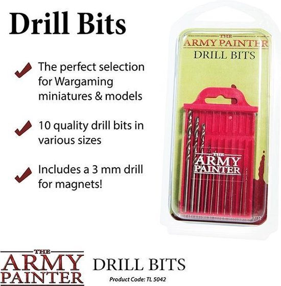 Afbeelding van het spel The Army Painter Drill Bits