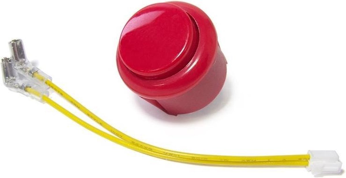 Granboard Reserveonderdeel Change Button 3/3s Rood 2-delig