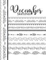 December Sketches: Astrology Sketchbook Activity Book Gift For Women & Girls - Daily Sketchpad To Draw And Sketch In As The Stars And Pla