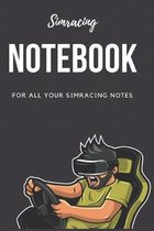 Simracing Notebook: For all your simracing notes