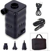 Donrox Camp L411 - Draagbare USB Elektrische Luchtpomp - Compacte Luchtbed Pomp Met Reistas - 400 l/m