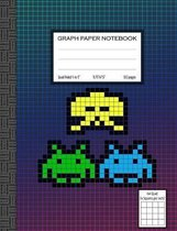 Quad Ruled Graph Paper Notebook, 4 Squares Per Inch: Classic Quad Ruled Graph Paper Notebook