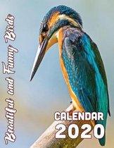 Beautiful and Funny Birds Calendar 2020