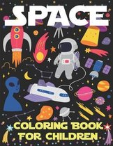 Space Coloring Book for Children