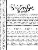 September Sketches: Astrology Sketchbook Activity Book Gift For Women & Girls - Daily Sketchpad To Draw And Sketch In As The Stars And Pla