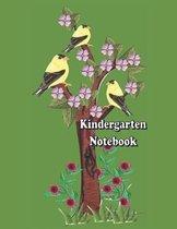 Kindergarten Notebook: Special lines notebook for Kindergartens