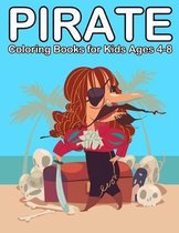 Pirate Coloring Books for Kids Ages 4-8
