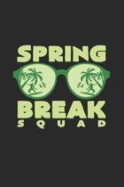 Spring break squad: 6x9 Spring - dotgrid - dot grid paper - notebook - notes
