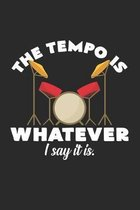 The tempo is whatever I say it is: 6x9 - grid - squared paper - notebook - notes