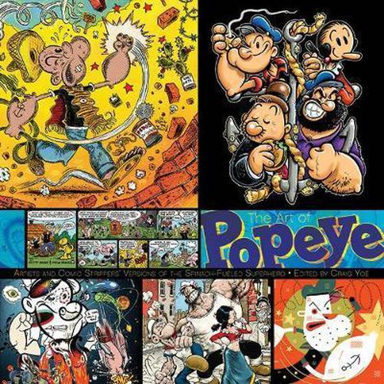 The Art of Popeye Artists and Comic Strippers'
