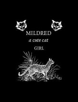 MILDRED a cute cat girl