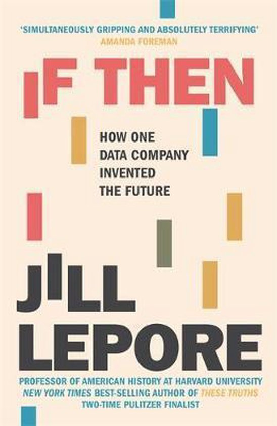 Boek cover If Then van Jill Lepore (Hardcover)