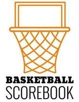 Basketball Scorebook: 50 Game Scorebook for Basketball Games - Scoring by Half