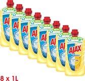 Ajax Allesreiniger Boost Soda & Citroen 8 x 1L - Voordeelverpakking