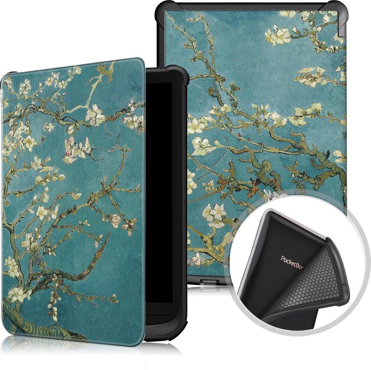 Achaté Pocketbook Touch HD 3, Lux 4 + Lux 5 Cover -  Met Magnetische Sluiting en Auto Sleep Functie