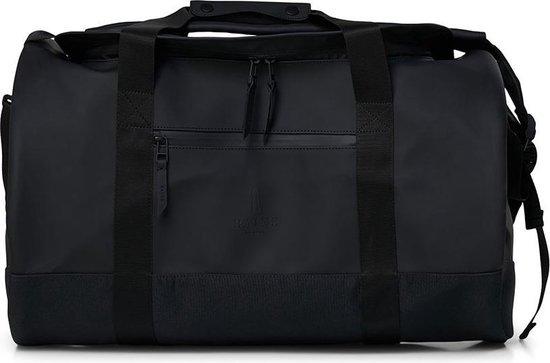 Rains Duffel Bag Medium Unisex - One Size - Zwart