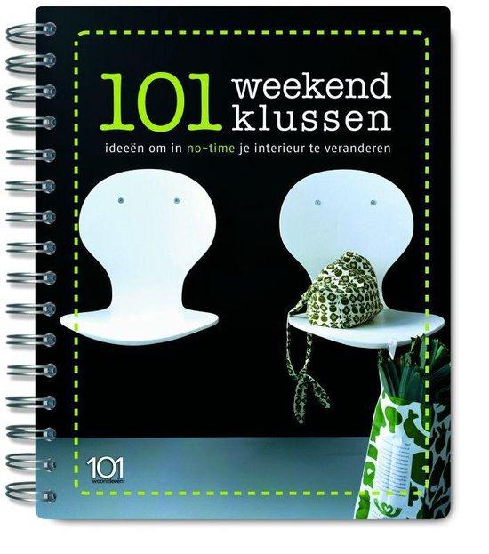 Cover van het boek '101 weekendklussen'