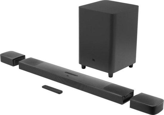 JBL Bar 9.1 - Soundbar met draadloze subwoofer en afneembare speakers - Zwart