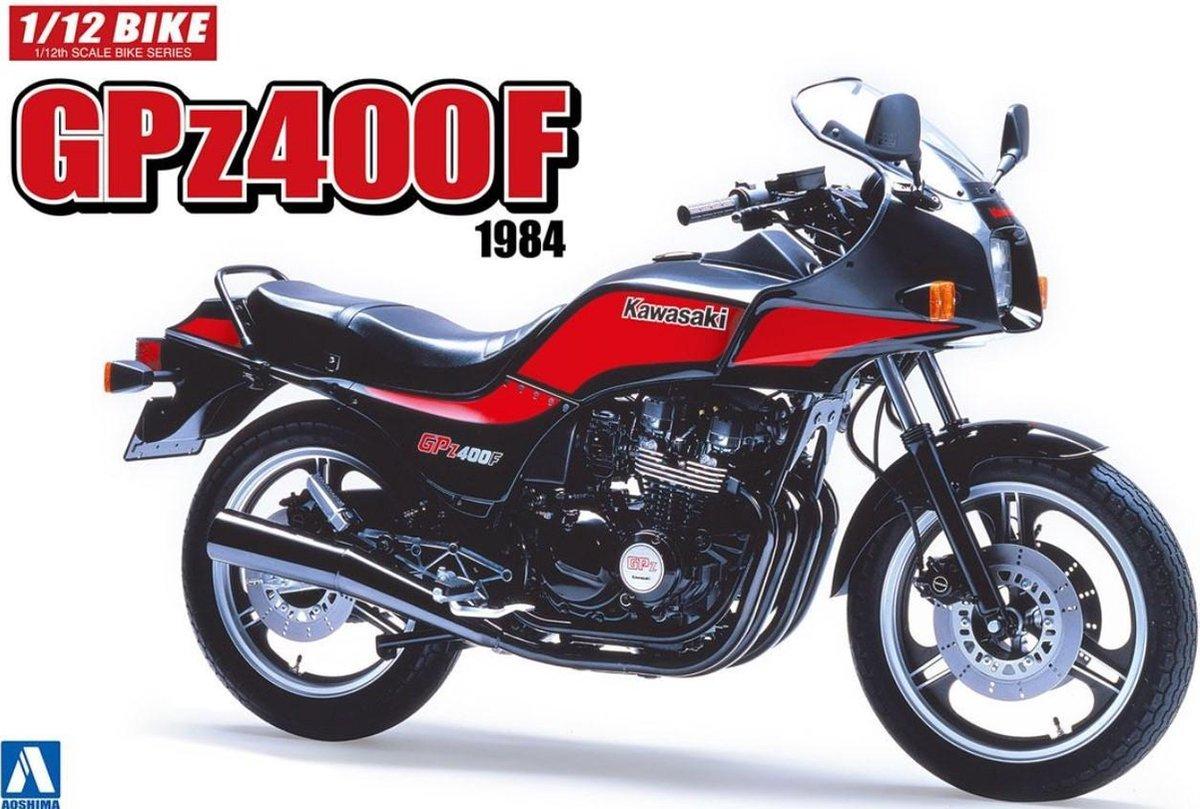Kawasaki GPZ400F - Aoshima modelbouw pakket 112