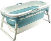 Purelines opvouwbad - Bath Bucket - Zitbad - 113 cm lang - Babybadje - Voor volwassenen - Met 3-delige deksel + Gratis Zitkussen