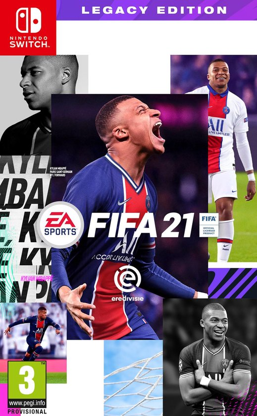 FIFA 21 - Switch - Legacy Edition