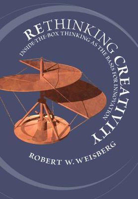 Boek cover Rethinking Creativity van Robert W. Weisberg (Paperback)