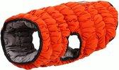 Super warm winterjasje voor honden - omkeerbaar - Elastisch - SMALL - ORANJE