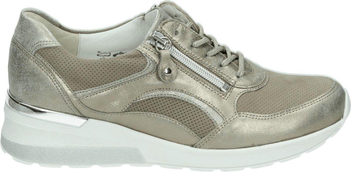 Waldlaufer 939011 H - Volwassenen Lage sneakers - Kleur: Taupe - Maat: 37.5