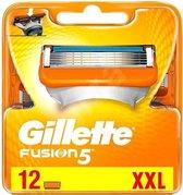 Gillette Fusion 5 Scheermesjes - 12 Stuks