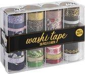 Washi Tape 36pcs x 3 meter | 36 verschillende designs | Bullet journal | Craft Sensations
