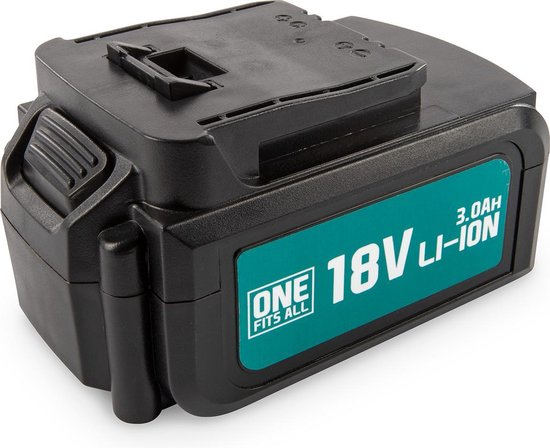 Powerplus One Fits All Accu -18 V Li-ion - 3.0 Ah
