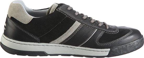 Camel Active 206.12.06 heren sneaker - grijs/zwart - maat 40.5