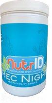 NutrID Rec Night PB eiwit shake vóór slapen  (plant based - plantaardig - vegan) - VANILLE | 750g