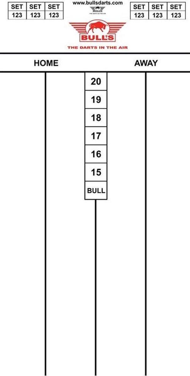 Bulls Dart Scorebord Flex (30 x 60 cm)