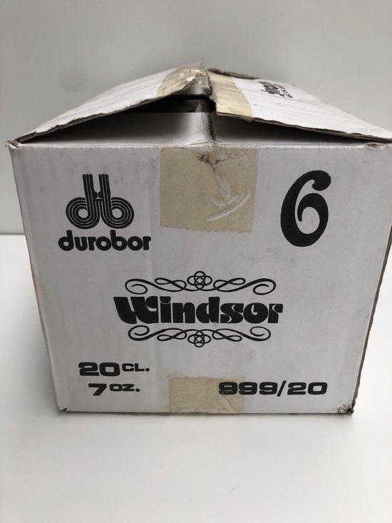 Durobor Windsor wijnglazen set 6x20cl