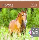 Helma CA03-21 Kalender 30 x 30 cm Paarden