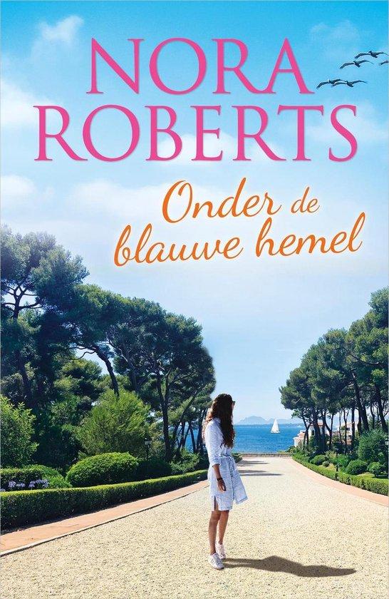 Boek cover Onder de blauwe hemel van Nora Roberts (Onbekend)