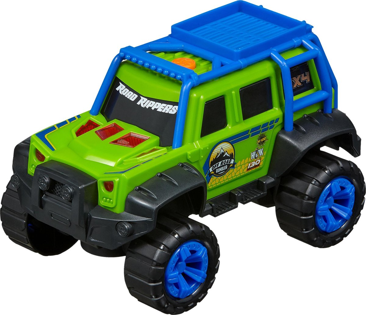 Nikko - Road Rippers Auto Off Road Rumbler: Forest Green