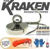 Magneet vissen- Magneetvissen the Kraken-Vismagneet 280KG- Neodymium Vis...