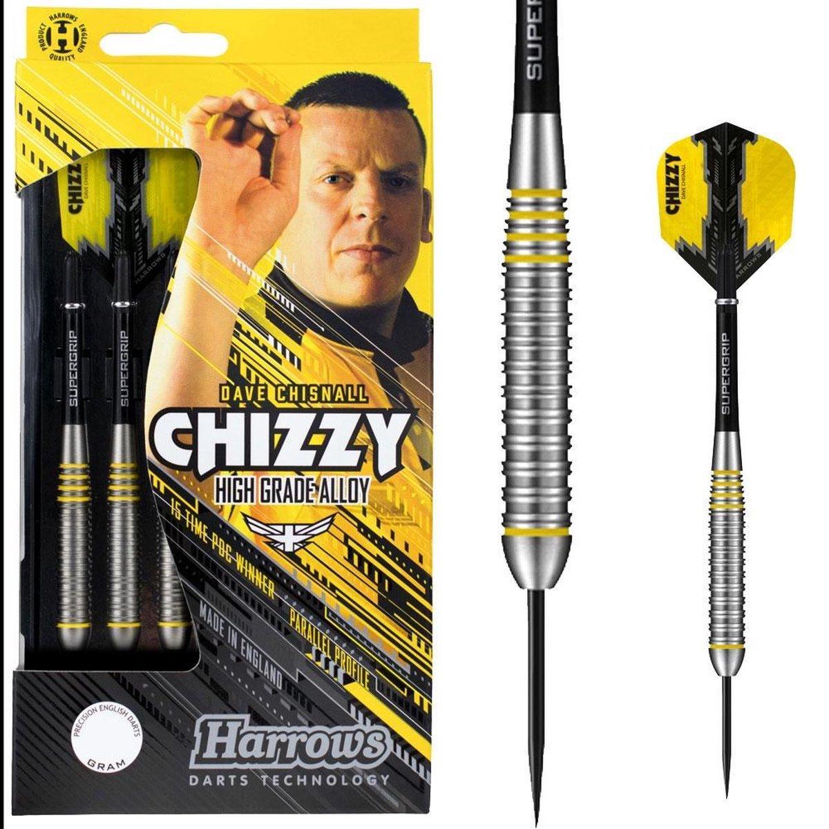 Harrows Dartpijlen Chizzy High Grade Alloy Steeltip Gewicht 22