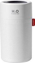 Draadloze Luchtbevochtiger| Humidifier | Diffuser | Woonkamer - Slaapkamer - Babykamer | Vernevelaar en Verdamper |  750 ML - Wit